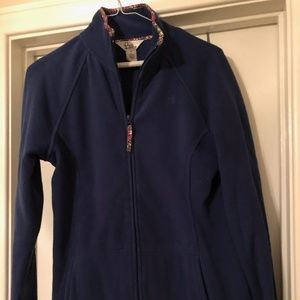 Lilly Pulitzer Navy Fleece- Size M